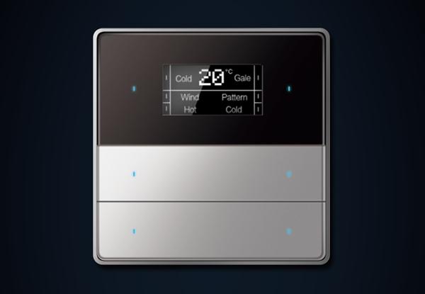 三位六键OLED显示-银色(金属)